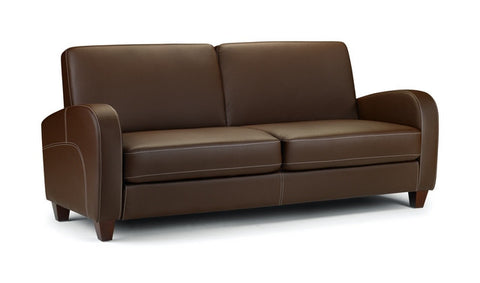 Vivo 3 Seater Sofa - Chestnut