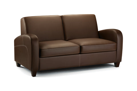 Vivo Fold Out Sofa Bed - Chestnut