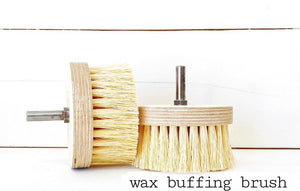 Wax Brush for Drill