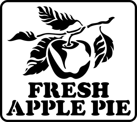Fresh Apple Pie JRV Stencils
