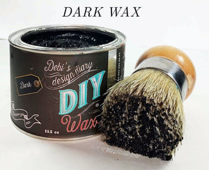 DIY Dark Wax DIY Paint