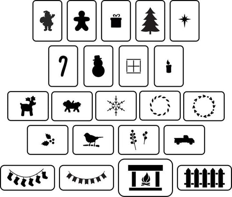 Christmas House Accessories | JRV Stencils