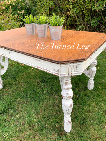 Hand-Painted Vintage Table
