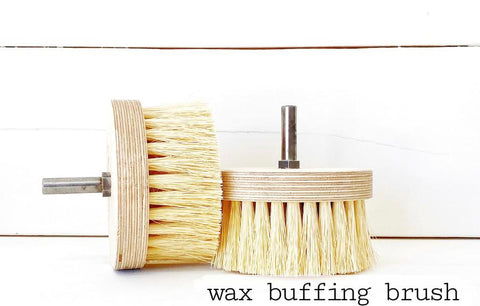 Waxing Brush (Drill Attachment)