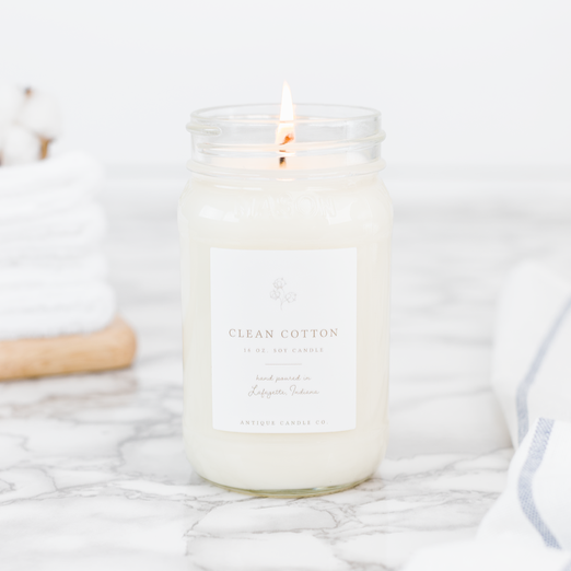 Antique Candle Co / Clean Cotton