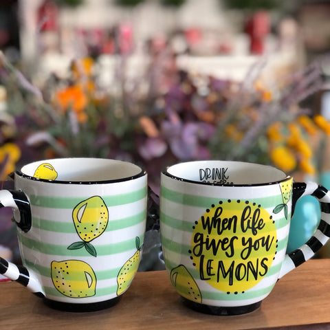 Mug - Life Lemons Drink Coffee