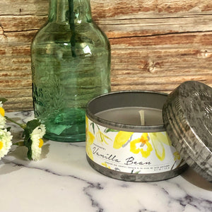 Vanilla Bean Tin Candle
