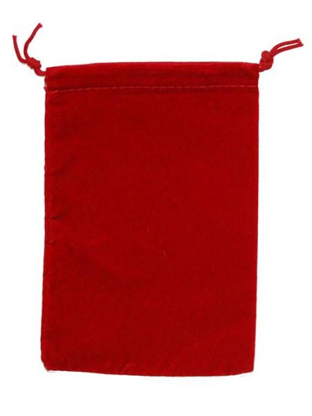 Dice Bag Suedecloth (S) Red | Howayte Hobby Store