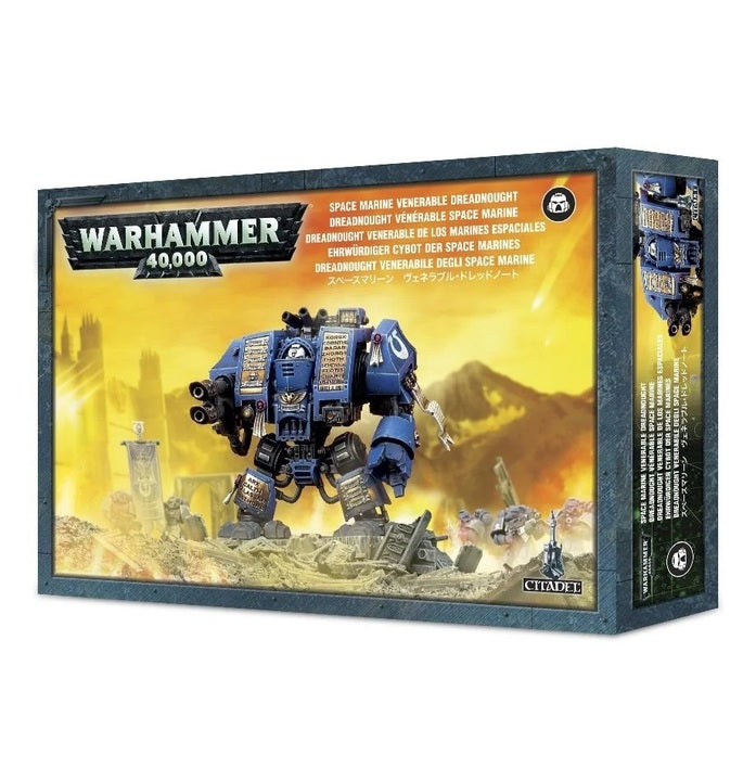 WH 40K: Space Marines - Venerable Dreadnought | Howayte Hobby Store