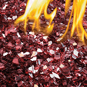 Red Glass Embers MKGR