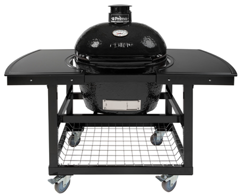 Primo All-In-One Oval LG 300 Ceramic Charcoal Grill PGCLGC