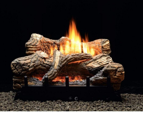 Ventless or Vent Free Gas Logs