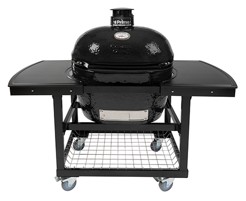 Primo All-In-One Oval XL 400 Ceramic Charcoal Grill PGCXLC