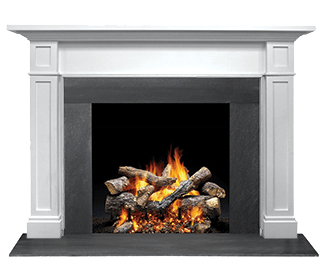 "Majestic Acadia C 53"" Ash Unfinished Maple Flush Wood Mantel AFAAAUC-A"