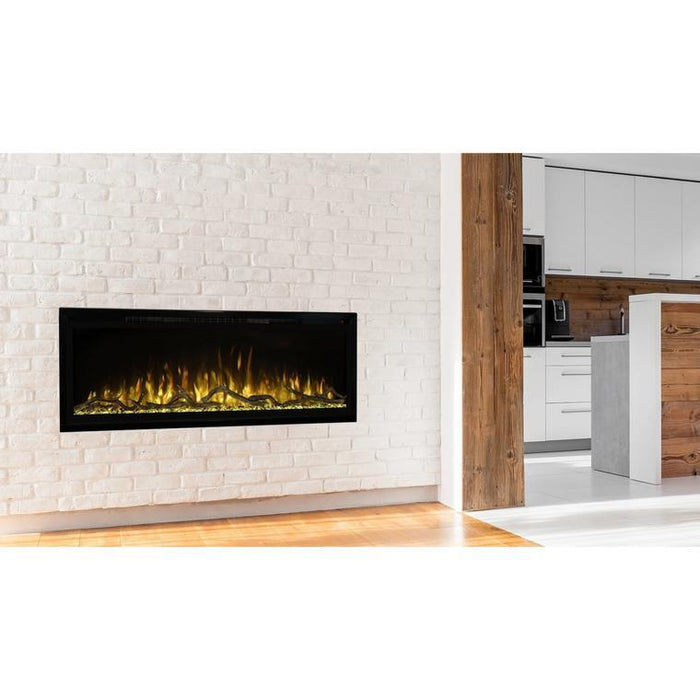 "Modern Flames Spectrum Slimline 74"" Built-In/Wall Mounted Electric Fireplace SPS-74B"