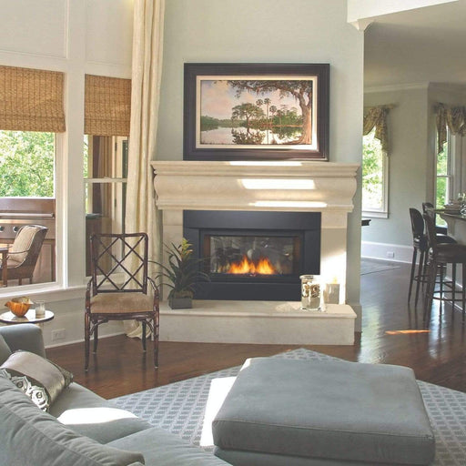 "Sierra Flame Palisade 36"" See-Thru Deluxe Direct Vent Linear Gas Fireplace PALISADE-36-DELUXE"