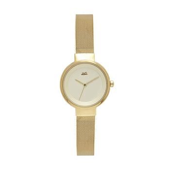 Jag Chloe Yellow Gold Mesh Watch