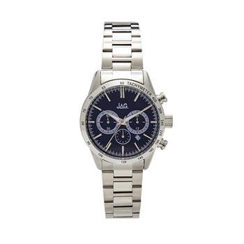Jag Max Navy Dial/Silver Watch