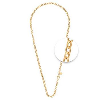Nikki Lissoni Gold Plated 4mm X 70cm Necklace