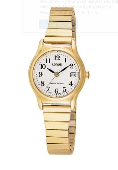 Ladies Lorus Watch with Expanding Band