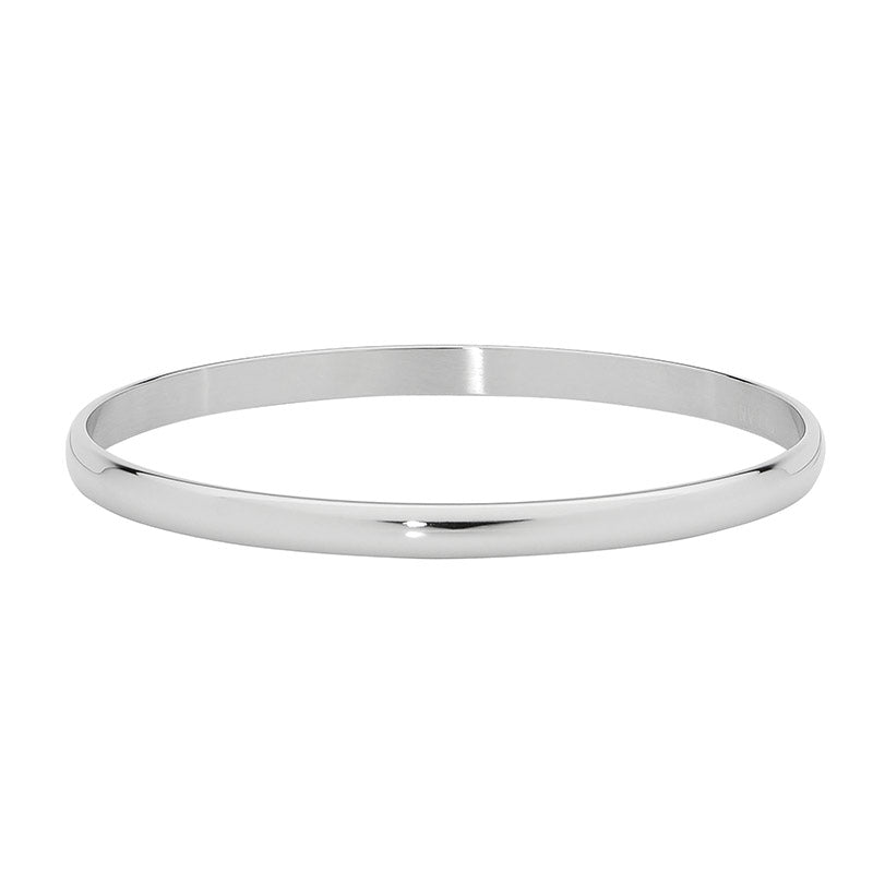 Ellani Stainless Steel 5mm Bangle