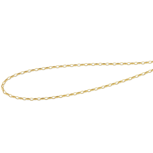 9ct Gold Silver Filled Chain