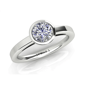 Aurora 18ct Gold G SI1 - 0.40ct Diamond Solitaire Ring