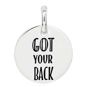 CANDID SS 18mm round 'got your back'