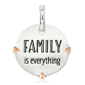 CANDID SS 2TR 18mm round geometric frame 'family is everything'