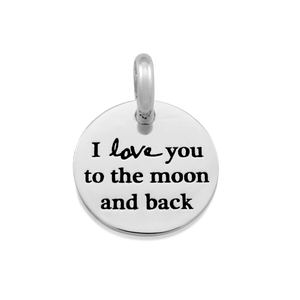 Candid 'I Love You To The Moon And Back' Pendant