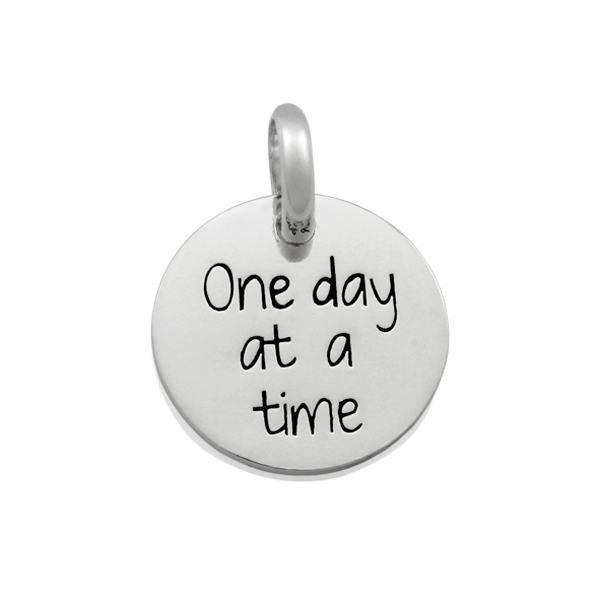 Candid 'One Day At A Time' Pendant