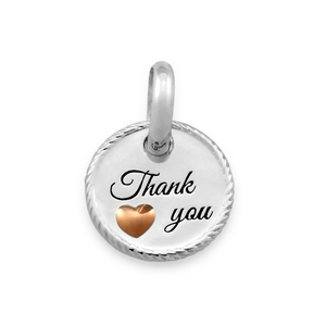 Candid 'Thank You' Pendant