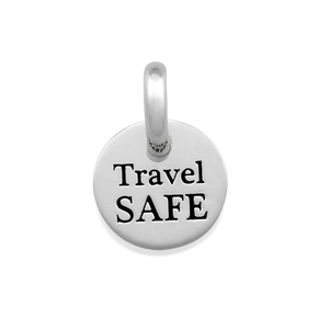 Candid 'Travel Safe' Pendant