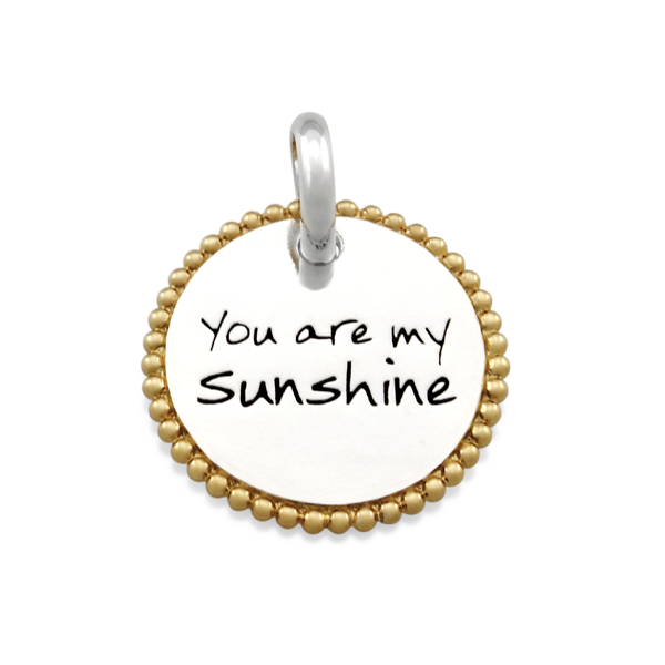 Candid 'You Are My Sunshine' Pendant