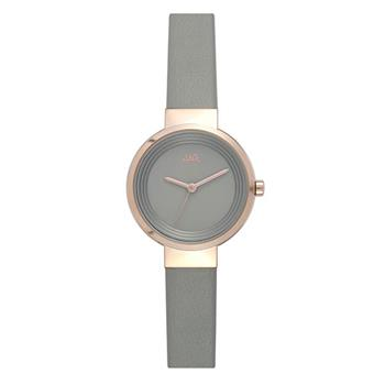 Jag Chloe Grey Dial PU Watch