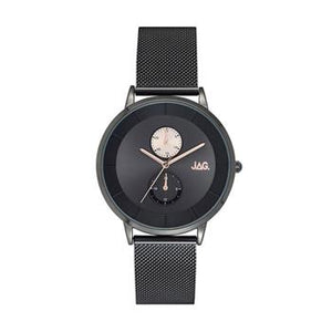 Jag Hudson Dark Grey Mesh Watch
