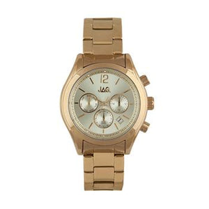 Jag Lisa Yellow Gold Watch