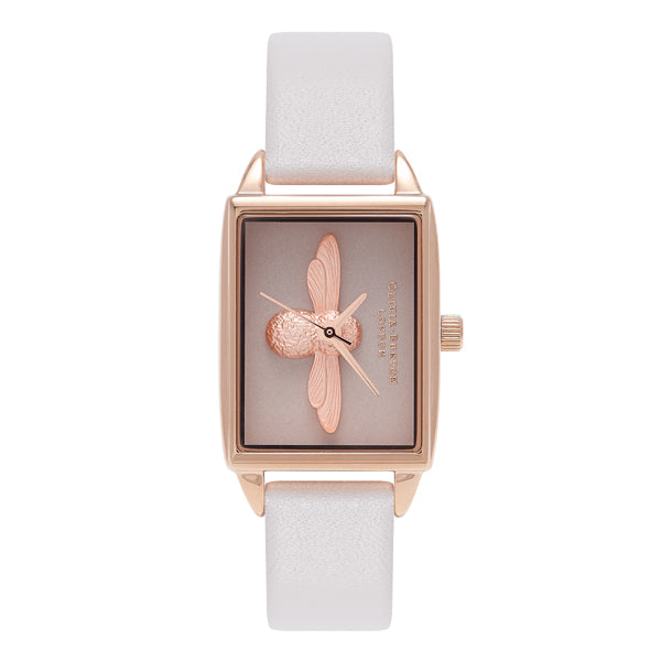 Olivia Burton  3D Bee Rose Gold Ladies Watch