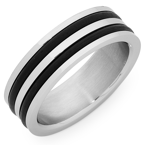 Stainless Steel Gents Ring