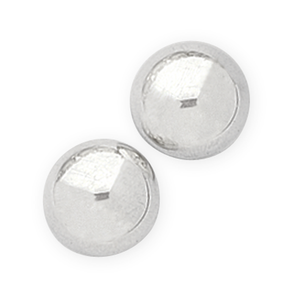 Sterling Silver Dome Studs