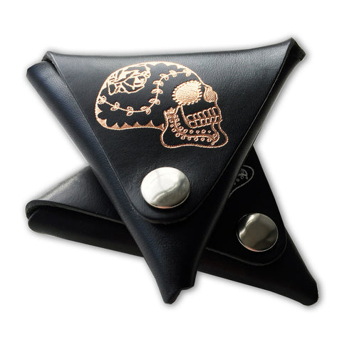 Sugar Skull Tri Coin Holder