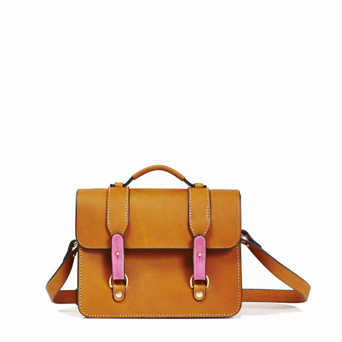 Tan/Cerise - Small