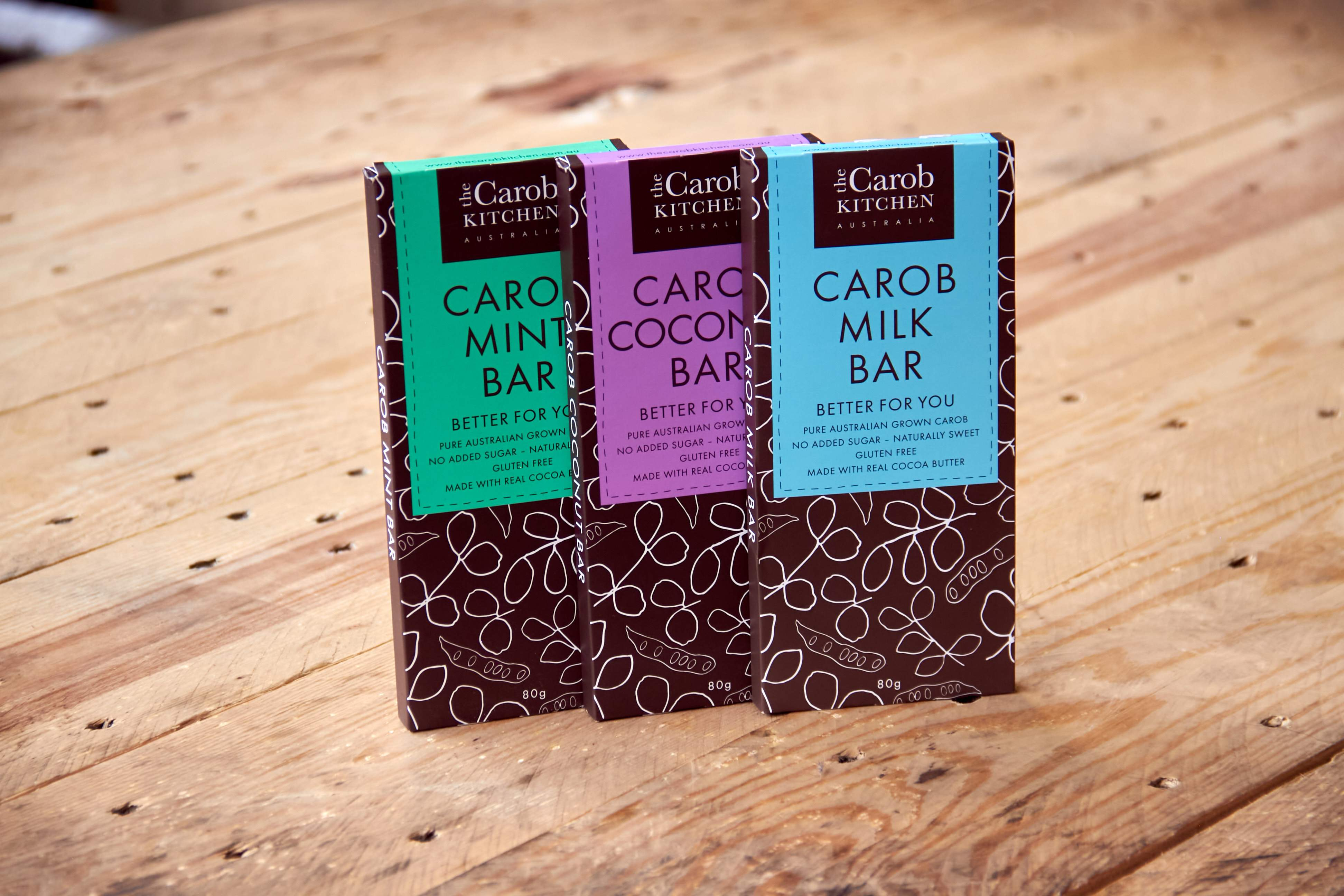 The Carob Kitchen Bars 80g