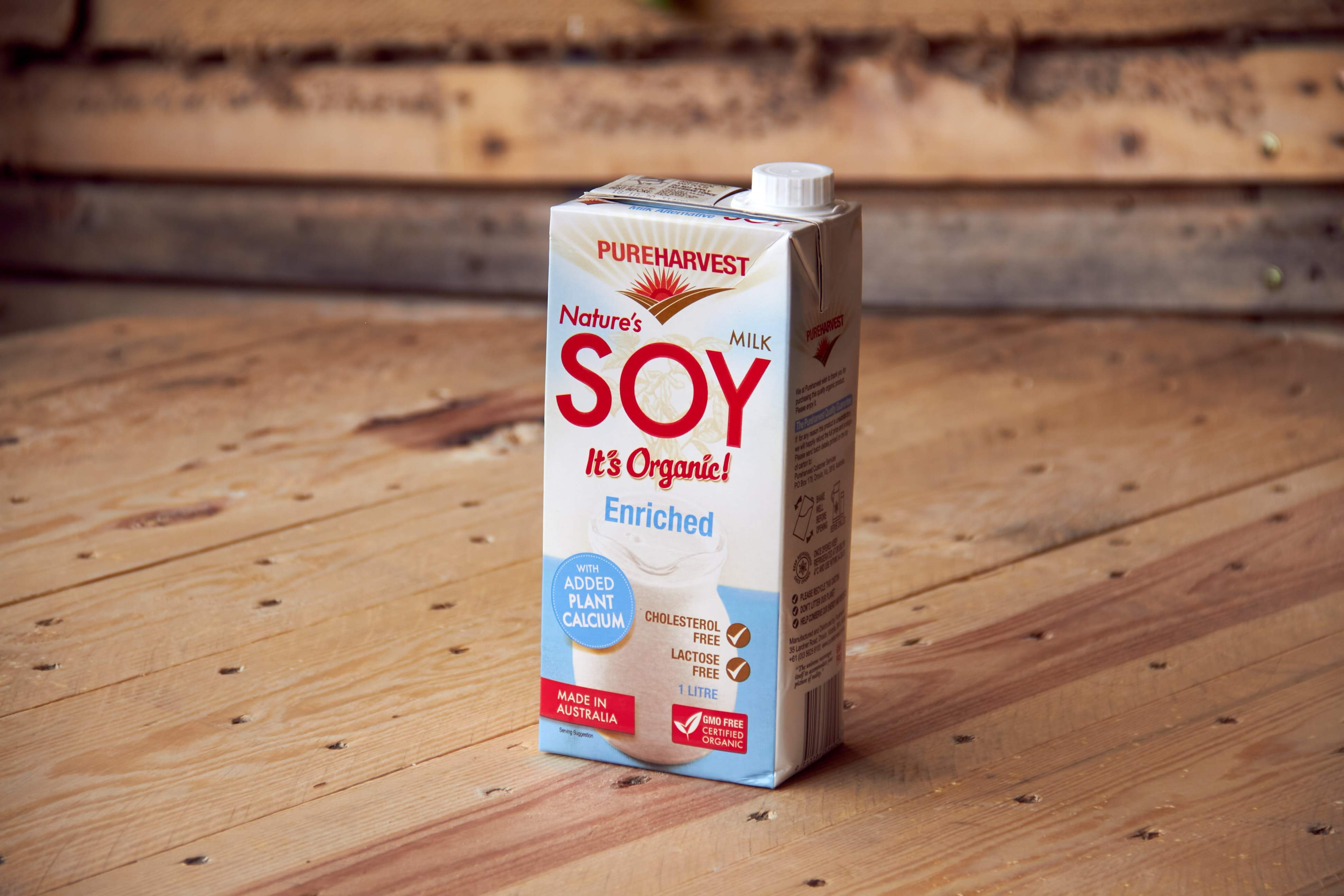 Organic Soy Milk - Calcium Enriched
