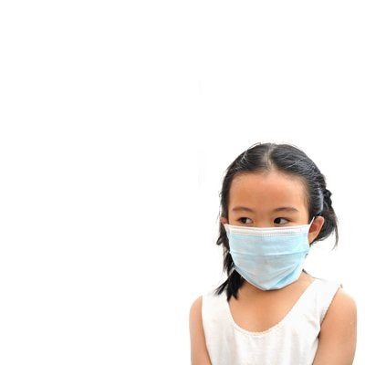 Safety Life Kid's Size 3 Ply Surgical Masks - 50 Pack