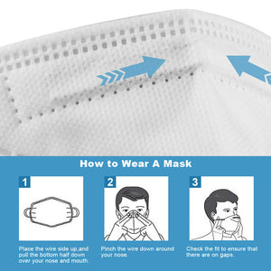 KN95 Respirator Mask from FDA Approved Facility