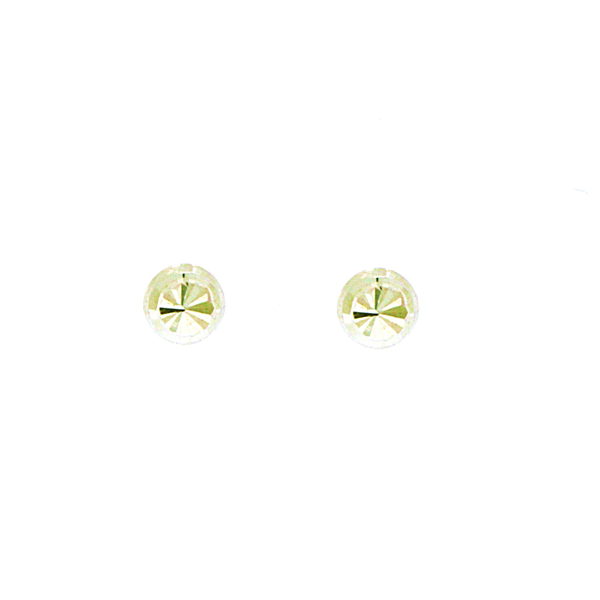 9ct 4mm Diamond Cut Ball Studs