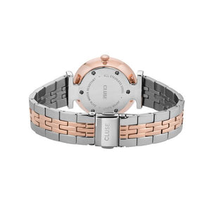 CLUSE Triomphe Rose Gold White Pearl/Silver Rose Gold