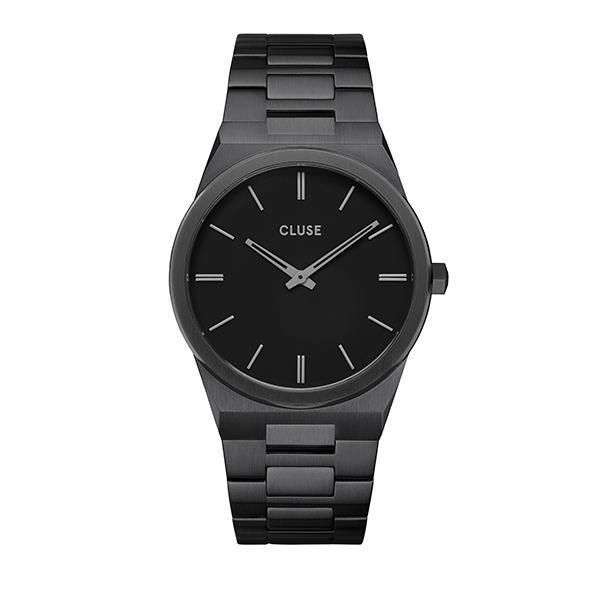 CLUSE Vigoureux Mens Full Black Link
