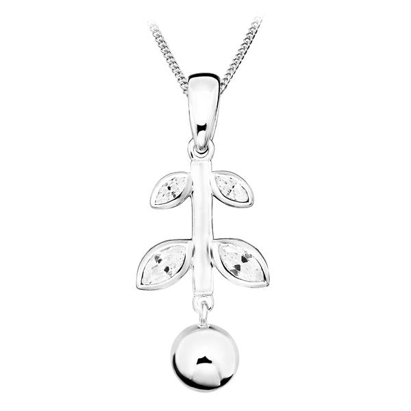 Elegance and Joy Thrive Pendant with chain
